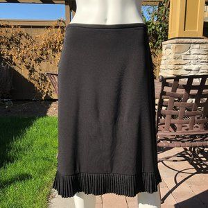 Joseph Ribkoff A Line Skirt Black Size 8